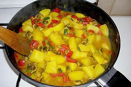 Herzhafte Kartoffel - Gemüse - Pfanne 2