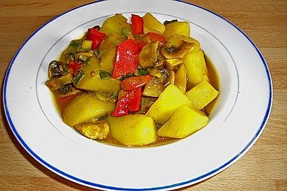 Herzhafte Kartoffel - Gemüse - Pfanne