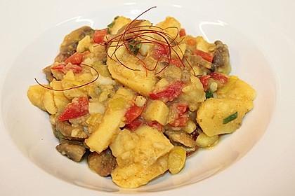 Herzhafte Kartoffel - Gemüse - Pfanne 4