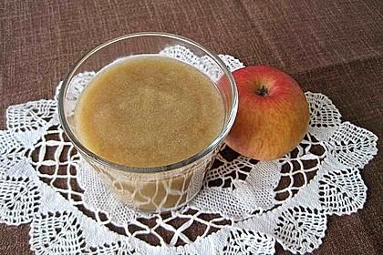 Apfelmus ganz  ohne  Zuckerzusatz 1