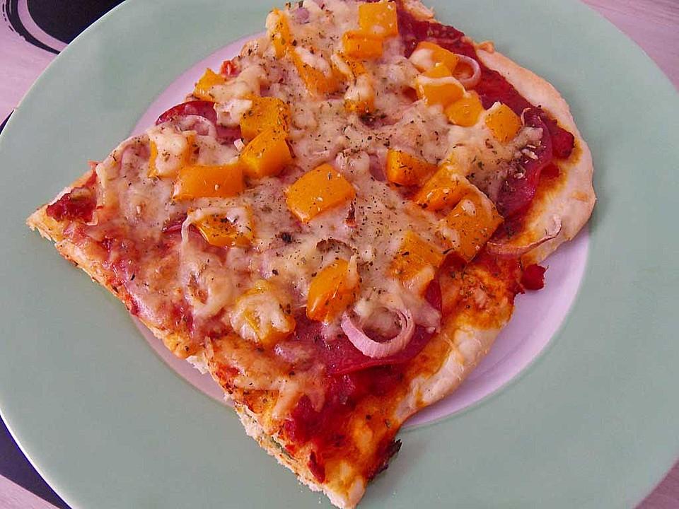Pizzateig Kalorien Und Fettarm Von Sandy2509 Chefkochde