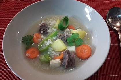 Graupensuppe 10