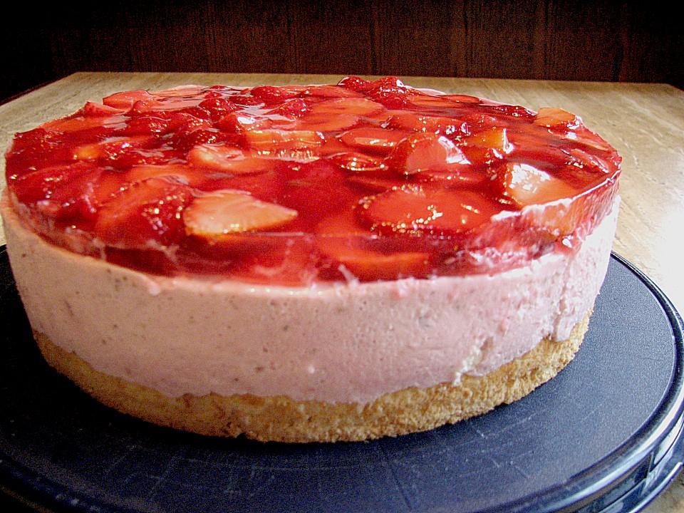 Erdbeer Quark Torte Von Speedymaus Chefkoch De
