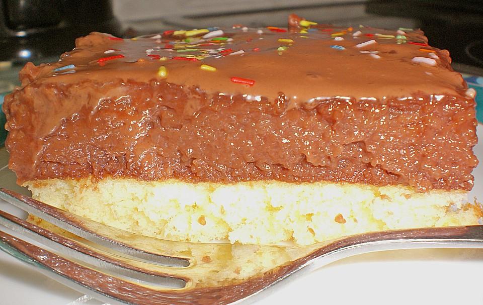 Schneller Griess Schoko Kuchen Von Martamausi Chefkoch De