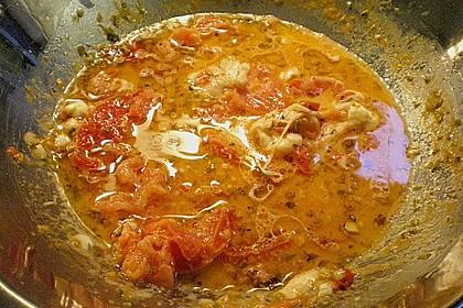 Tubettoni mit Kirschtomaten, Pecorino und Mozzarella 3
