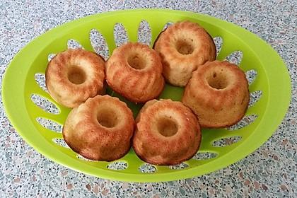 Honig - Muffins  mit  Maismehl 16