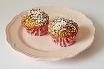 Honig - Muffins  mit  Maismehl (Bild)