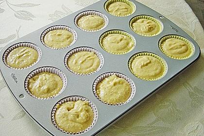 Honig - Muffins  mit  Maismehl 20