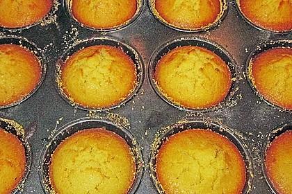 Honig - Muffins  mit  Maismehl 22