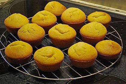 Honig - Muffins  mit  Maismehl 8