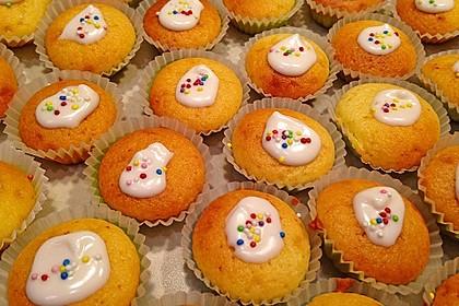 Honig - Muffins  mit  Maismehl 6