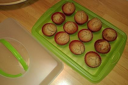 Honig - Muffins  mit  Maismehl 4
