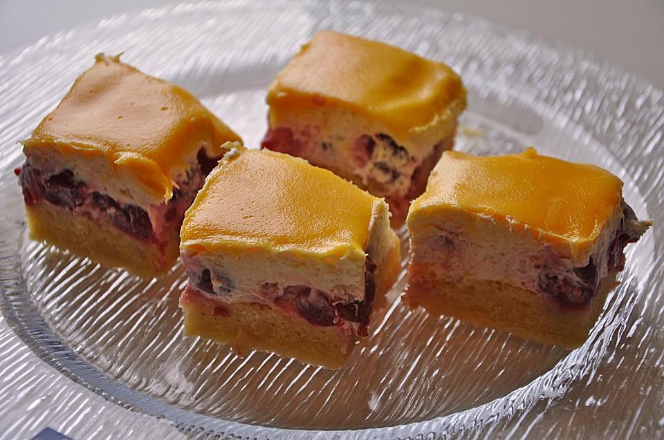 Himbeer Schmand Kuchen Mit Eierlikorguss Chefkoch De