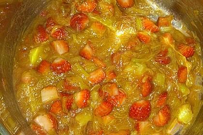 Eichkatzerls Erdbeer - Rhabarber - Kompott 22