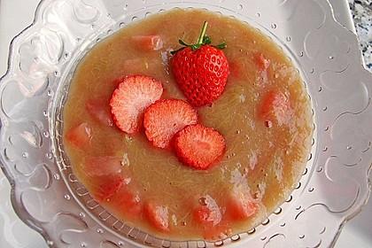 Eichkatzerls Erdbeer - Rhabarber - Kompott 13