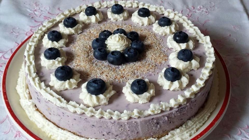 Heidelbeer Quark Torte Ein Schones Rezept Chefkoch De