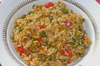 Serbische Reispfanne