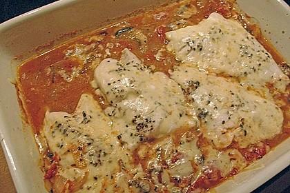 Tomaten - Paprika - Fisch - Auflauf 2
