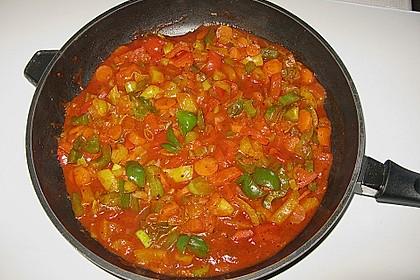 Tomaten - Paprika - Fisch - Auflauf 4