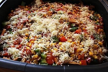 Tomaten - Paprika - Fisch - Auflauf 1