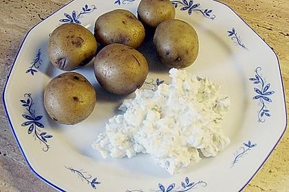 Kartoffeln mit Kräuterquark 4