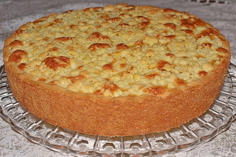 Rahm Apfelkuchen Mit Butterstreuseln Von Die Krumel Chefkoch De
