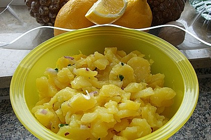 Kartoffelsalat in Zitronensauce 4