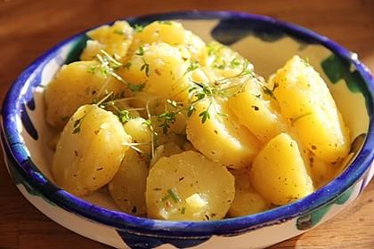 Kartoffelsalat in Zitronensauce 10