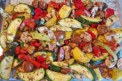 Mediterrane Pfanne aus dem Ofen 1