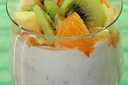 Joghurt - Sahne - Müsli