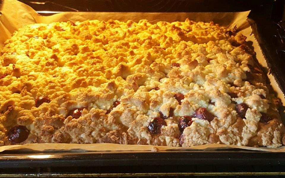Kirschkuchen Vom Blech Von Baumfrau Chefkoch De