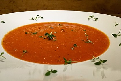 Frische Tomatensuppe 15