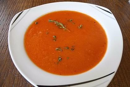 Frische Tomatensuppe 7