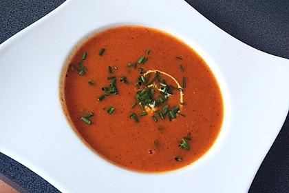 Frische Tomatensuppe 12