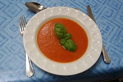 Frische Tomatensuppe 4