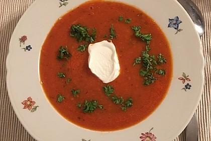 Frische Tomatensuppe 18