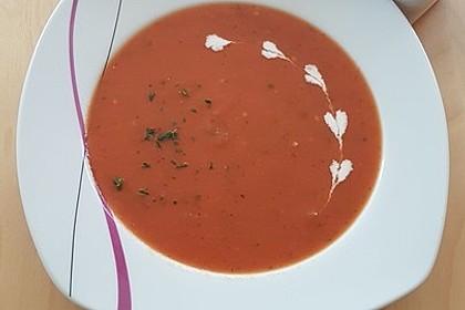 Frische Tomatensuppe 21