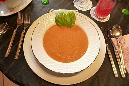 Frische Tomatensuppe 2