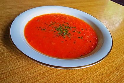Frische Tomatensuppe 10