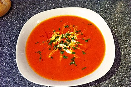 Frische Tomatensuppe 11