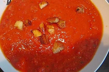Frische Tomatensuppe 34