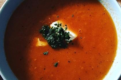 Frische Tomatensuppe 14