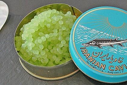 Melonenkaviar oder Gurkenkaviar