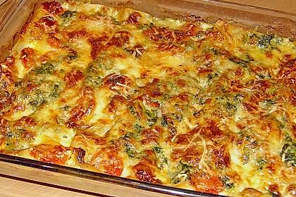 Tomaten - Spinat - Lasagne 2