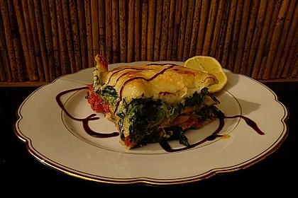 Tomaten - Spinat - Lasagne 5