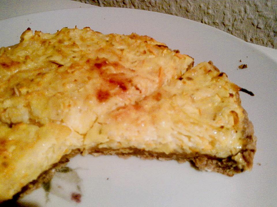 Herzhafter Kurbis Kase Kuchen Vom Blech Von Metta Chefkoch De