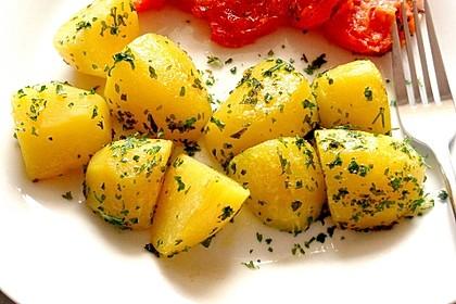 Perfekte Petersilienkartoffeln (Bild)