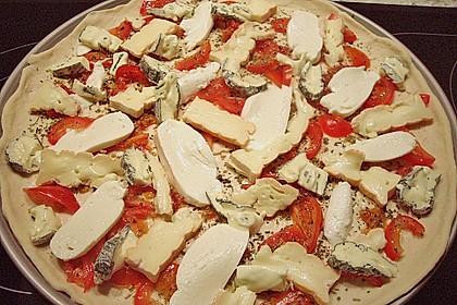Pizza Quattro Formaggi 7