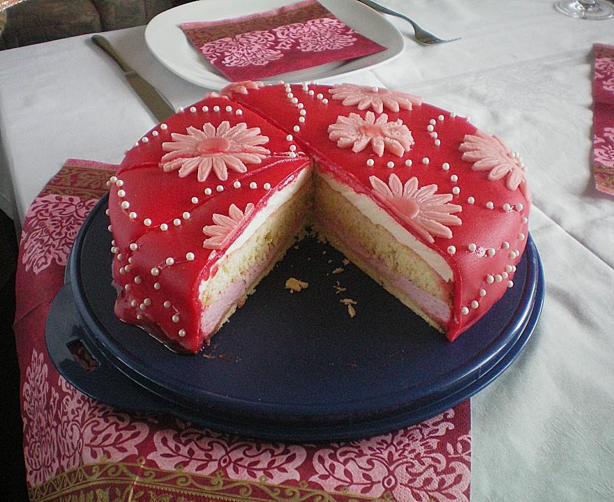 Erdbeer Maracuja Torte Von Wuschel27 Chefkoch De