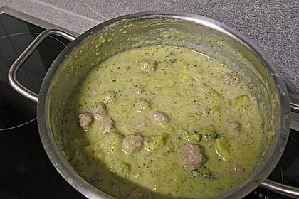 Blumenkohl - Brokkoli - Suppe 7